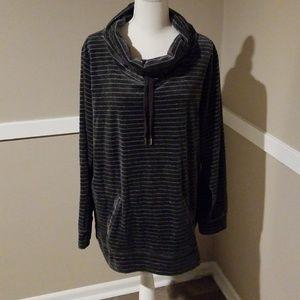 Made For Life Velour Sweater/Sweatshirt.
